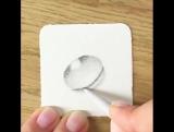 Как нарисовать каплю