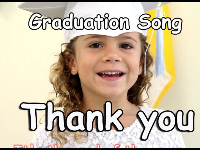 Graduation Song Thank you for kids, children babies with lyrics | Patty Shukla