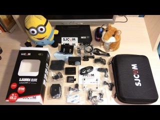 Экшен камера SJCAM SJ5000x Elite. Обзор как она снимает.