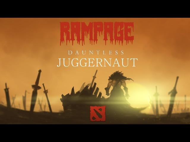 Dota 2 Juggernaut - Rampage 1 || Дота 2 Джаггернаут - Рампага 1