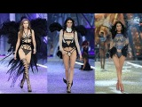 Gigi Hadid, Kendall Jenner &amp Bella Hadid at The Victoria's Secret Fashion Show 2016