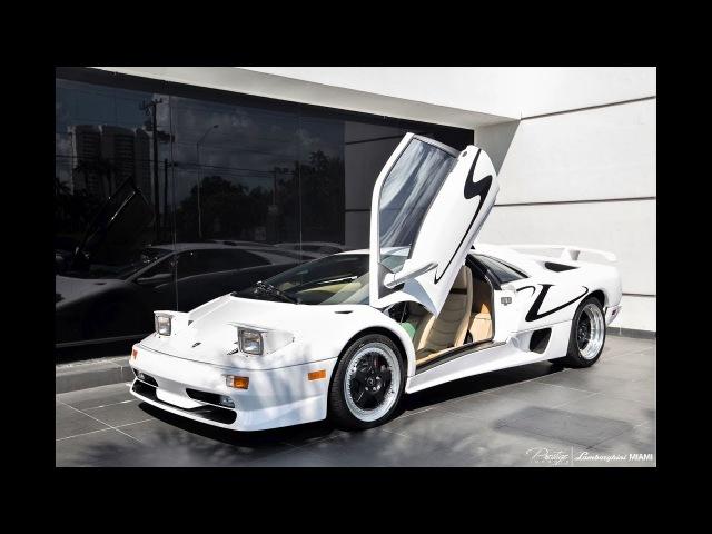 Lamborghini Diablo SV Loud Bull Interior Exterior Drive KING OF SUPERCARS at Lamborghini Miami