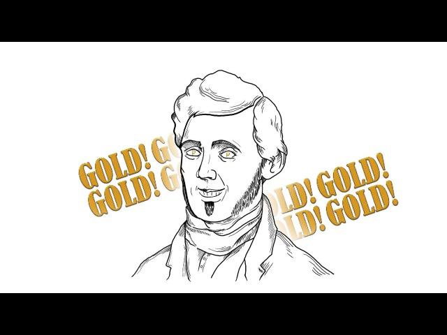 Первые герои золотой Лихорадки в Калифорнии США