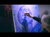 The Galactic Effect live with Alex Grey at Chapel Of Sacred Mirrors