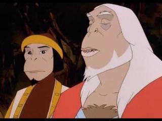 Королевство обезьян-добрый,полнометражный мультик