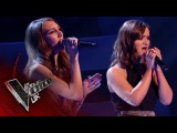 Lucy Kane vs. Nadine McGhee - 'Time After Time' The Battles  The Voice UK 2017