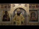 Преосвященный Феодор, епископ Переславский и Угличский. Проповедь 29.10.2017