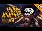 Крутые моменты с насмешками в Овервотч - Overwatch Troll Moments - Best Taunts, Bad Manners, &amp Rage