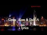 Rap Ginex - Som &amp DoN-A
