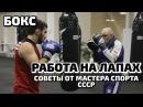 Работа на ЛАПАХ БОКС Советы и комбинации от Мастера Спорта СССР Tiger Москва