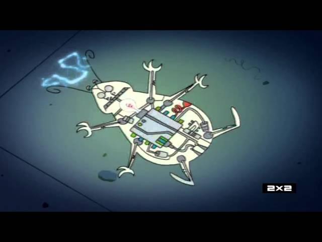 Таракан робот RoboRoach Заставка Заставки Intro Intros Opening Openings