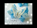 Эффектные бантики с бабочками МК Канзаши Spectacular bow with butterflies Kanzashi