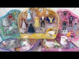 HUGE POLLY POCKET Disney Princess Deluxe Fashion Sets - Cinderella Ariel Belle Tiana Jasmine