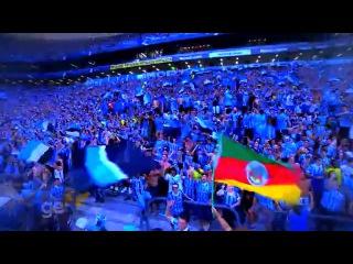 Homenagem ao Grêmio feita pelo Globo esporte