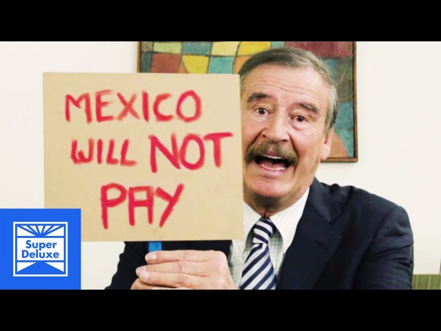 Another Message for Donald Trump from Former Mexican President Vicente Fox