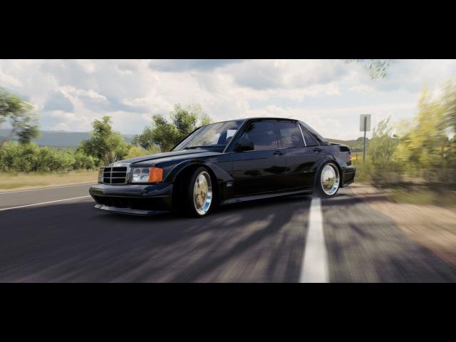 Forza Horizon 3 Mercedes Benz 190 3.2l Drift GAMEPLAY HD1080p