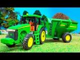 Трактор Павлик - Развивающие Видео для детей - Мультфильмы про машинки