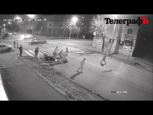 В Кременчуге сбили мотоциклиста