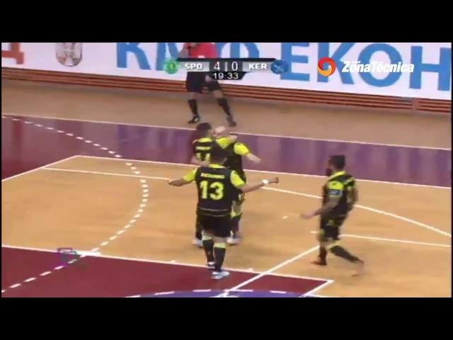 Кубок УЕФА Sporting 5-1 Prodexim Kherson