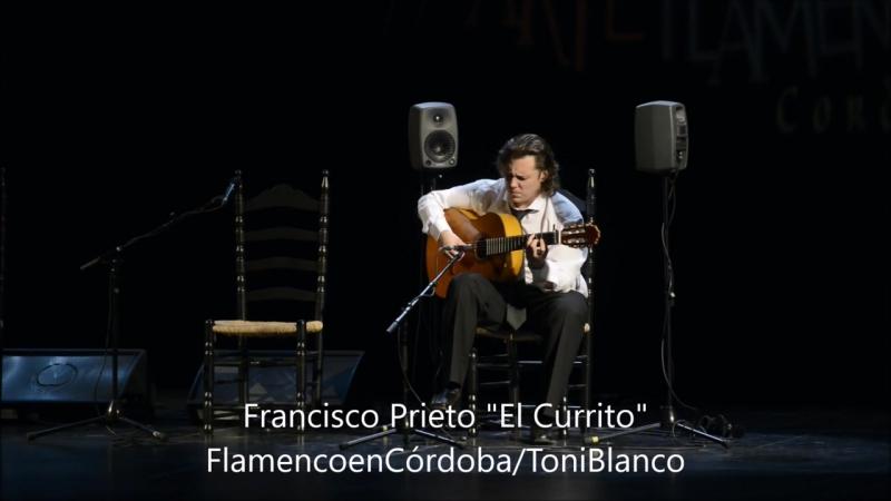 Francisco Prieto El Currito en el XXI Concurso Nacional de Arte Flamenco, Córdoba