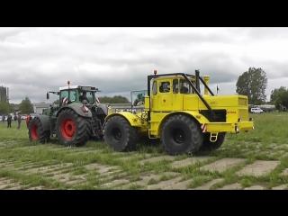 Тракторы, перетягивание Кировец К-700, 701, 744 против всех подборка
