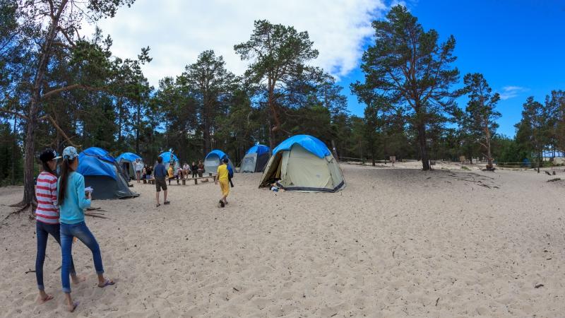 ABC camp - Timelapse (Лагерь ABC на Байкале)