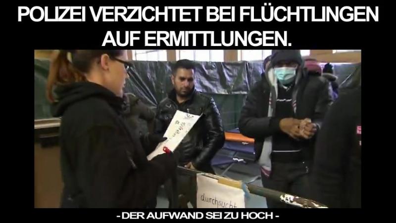 In Kiel haben Polizisten die Anweisung erhalten kleinere Delikte von Migranten weniger intensiv zu verfolgen Der Aufwand sei z