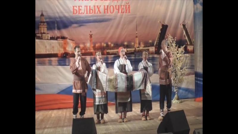 Выступление ансамбля Бур Лун ГУ МВД России по Пермскому краю.