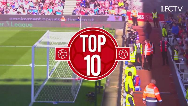 Top 10 | Ассисты в Премьер Лиге | The best Premier League assists of 2016/17 | Sturridge, Coutinho, Wijnaldum