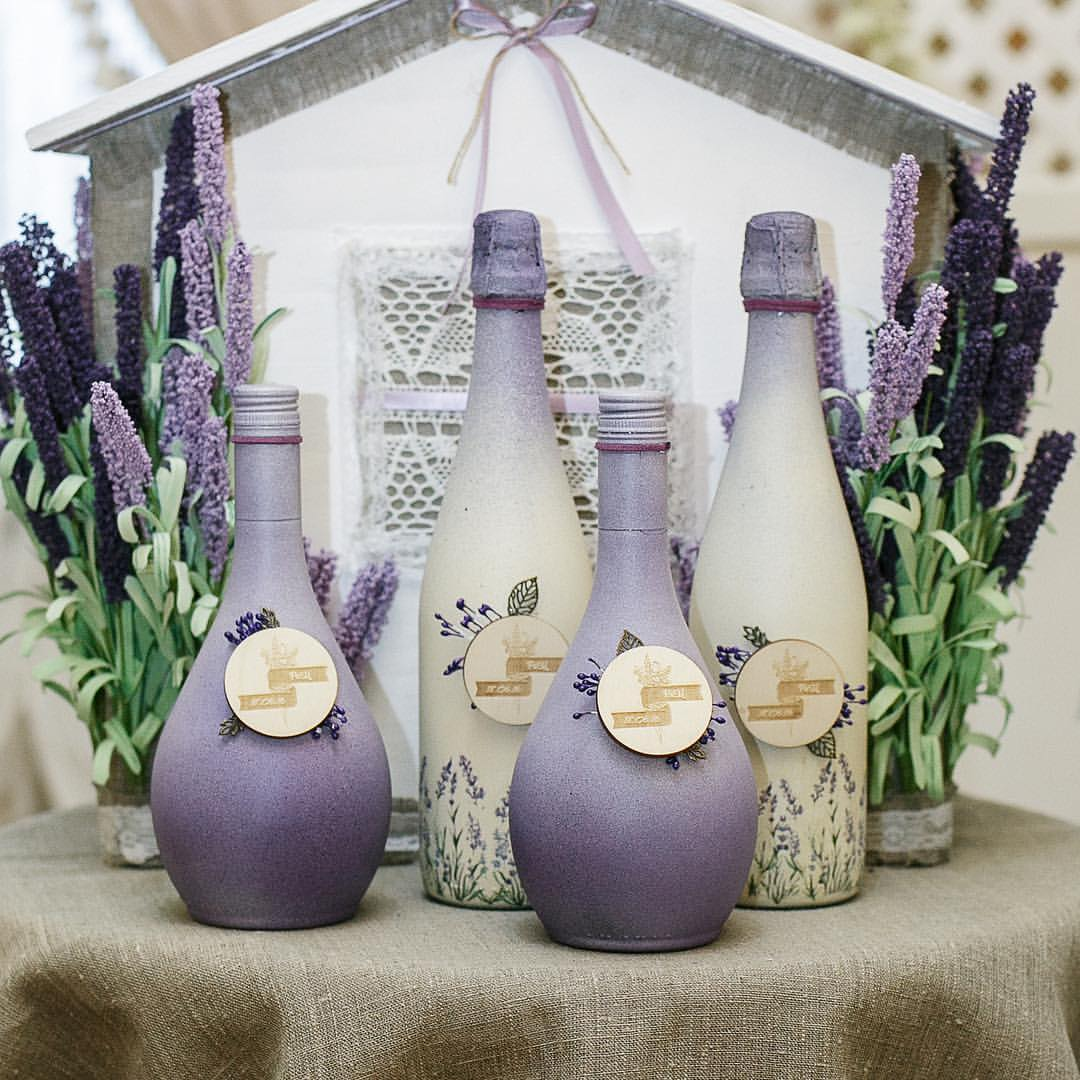 K'Mich Weddings- wedding planning - decorated wine bottles - wedding ideas blog by K'Mich - wedding planning services in Philadelphia PA
