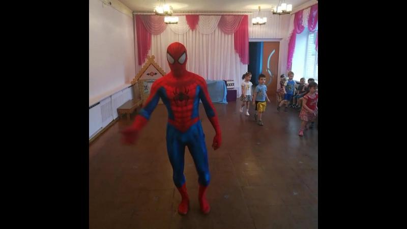 Супермен от Праздничного агенства PROSTO на детском празднике