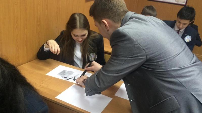Экскурсия в Криминалистическую лабораторию Института права БашГу
