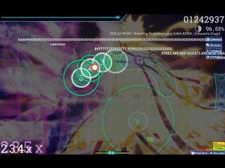 osu! Replay Shidedown: KANA-BOON // Silhouette 5,33