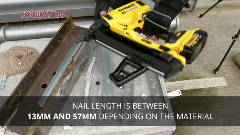 Dewalt DCN890 18v XR Brushless Concrete Nailer - EXCLUSIVE