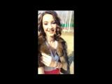 Ольга Бузова едет на Муз-тв 14 03 2017 истории instagram