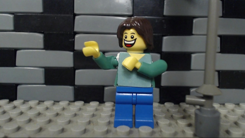 Lego David Bowie Mick Jagger Dancing In The Street