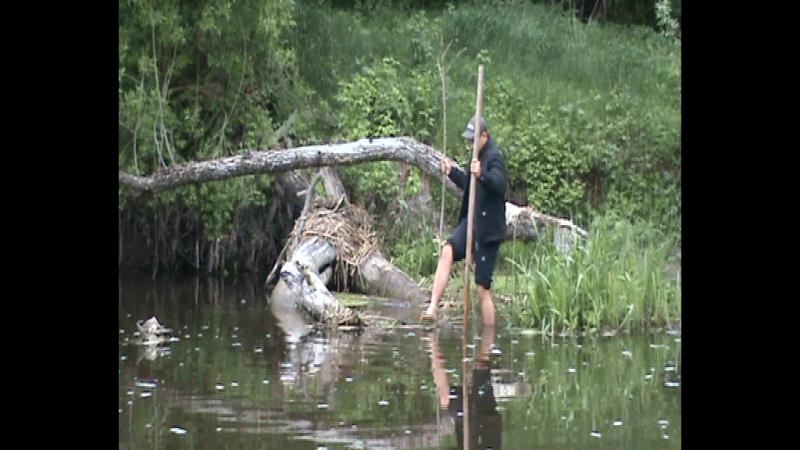 Пригоди на рибалці.Іллюха в головній ролі. 18 ))