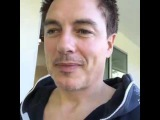 John Barrowman Good morning from Palm Springs) Arrow