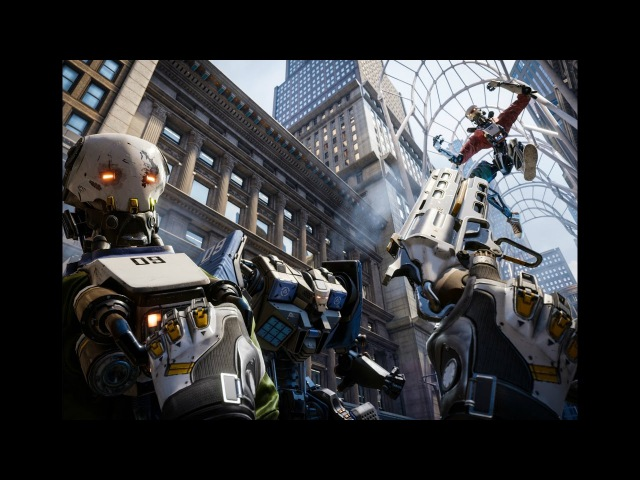Oculus Touch: 12 Minutes of 'Robo Recall' Gameplay from Epic