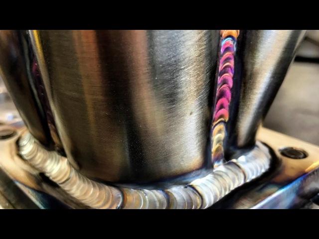 Archer Fab DSM T4 turbo manifold time lapse build