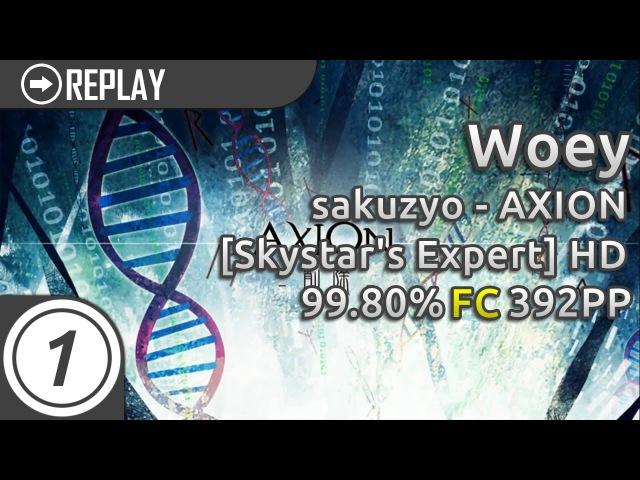 Woey sakuzyo AXION Skystar's Expert HD 99 80% 392pp 1