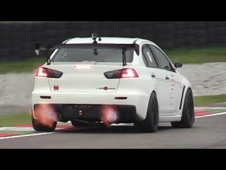 Mitsubishi Lancer Evo X by J-Spec Performance at Time Attack Italia