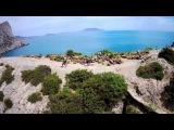 Крым с высоты, полет на Hubsan X4 H501S pro (Камера без фильтра)