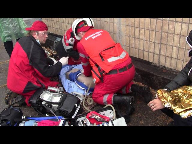 Соревнования скорой помощи в Каменском 2016