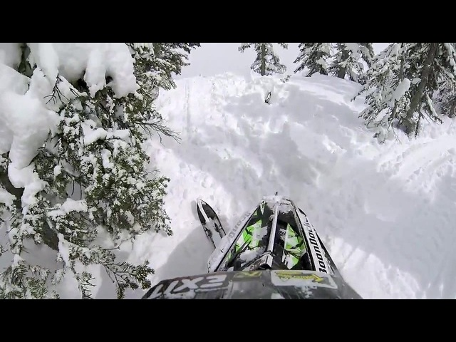 GoPro Snowmobile Drop
