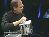 G4 Cube unveiling (19 Jul 2000)