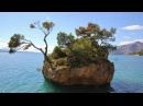Хорватия, Макарска ривьера, променад и пляжи между Брелой и Башкой Водой