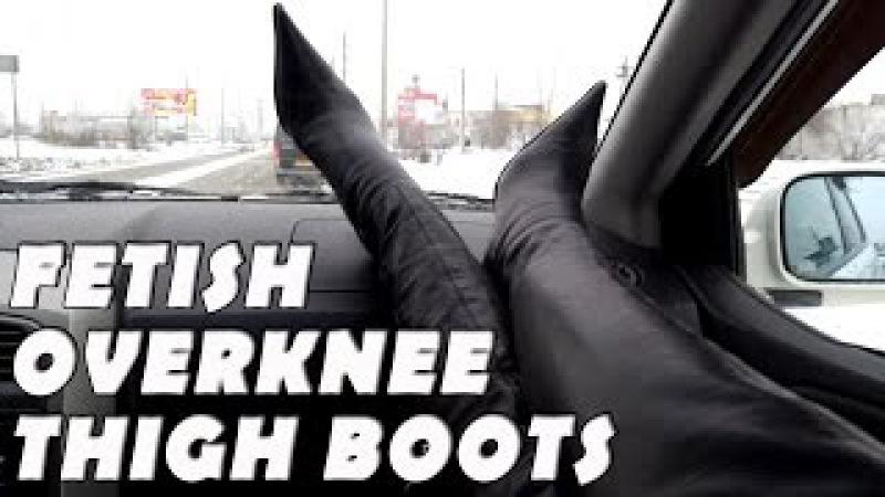GIANMARCO LORENZI overknee high heels boots 38 size FETISH
