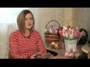 Букет тюльпанов из текстиля от Анны Демидюк