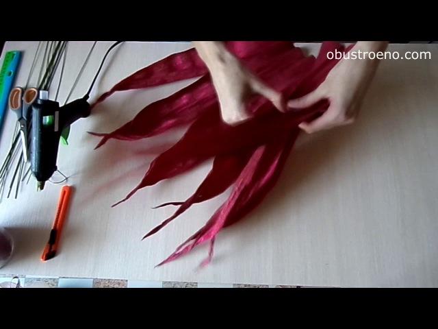 2_СУПЕР большие цветы из бумаги. Розы (часть II)